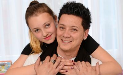 «Ich umarme dich so fest. Du bist mein Leben, meine Seele», singt Piero im Lied «Alessia» über seine bald 13-jährige Tochter.