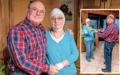 Dorothea Pohl macht mit ihrem Mann zu Hause Rehaübungen, um bald wieder gesund zu werden.