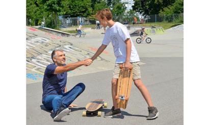 Wie im wahren Leben gehören zum Skateboarden auch Stürze.