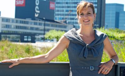 Vor dem SRF: Cornelia Boesch liebt ihren Beruf sehr, das Allerwichtigste ist ihr aber die Familie.