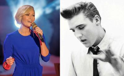 Helene Fischers Song mit Elvis heisst «Just Pretend». Das Album «The Wonder of You» erscheint am 21. Oktober.
