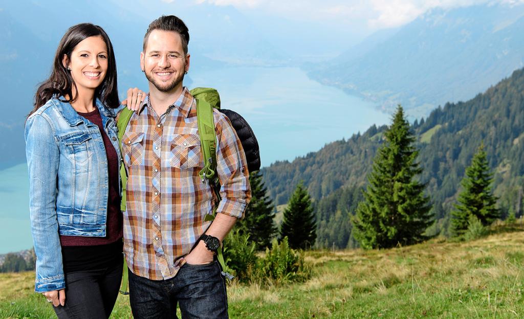 Das Paar ist gerne in der Natur, geniesst die fantastische Aussicht über den Brienzersee.