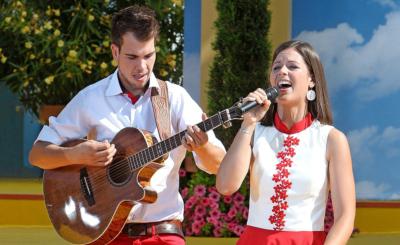 Frontfrau Melanie Oesch mit Bruder Kevin an der Gitarre: Wann er zur Band zurückkehrt, ist ungewiss.