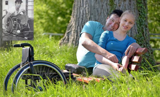Beide Beine verloren - dennoch sehr glücklich - GlücksPost